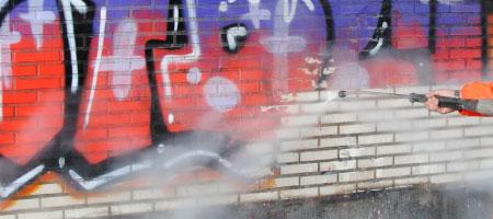graffiti verwijderen Mol